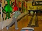 Olav beim Bowlingspiele