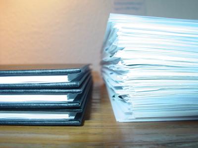 Bachelorarbeit gegen Materialsammlung