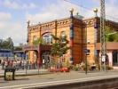 Hundertwasser-Bahnhof Uelzen Haupteingang