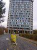 Vandalismus am Blauen Turm Campus Göttingen
