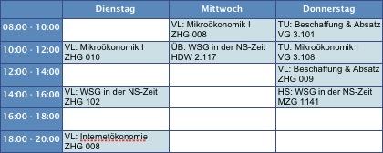 Stundenplan-WS0708