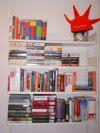 Bücheregal aus der Studentischen Ein-Mann-Wohngemeinschaft