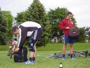 Fußball + Grillen = Dies Akademicus Vorbereitung mit dem MARKET TEAM