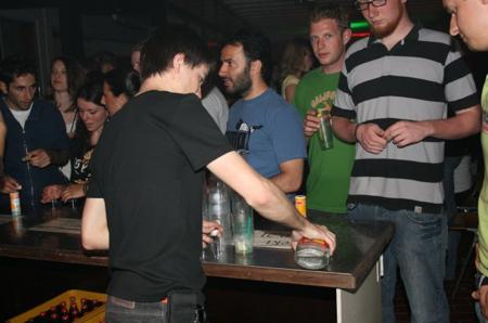 MrOrange an der Cocktailbar
