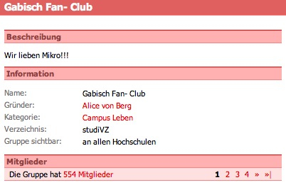 Professor-Gabisch-Fan-Club