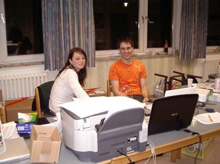 Kristina und MrOrange bei der MARKET TEAM WinterDV in Goettingen 2008
