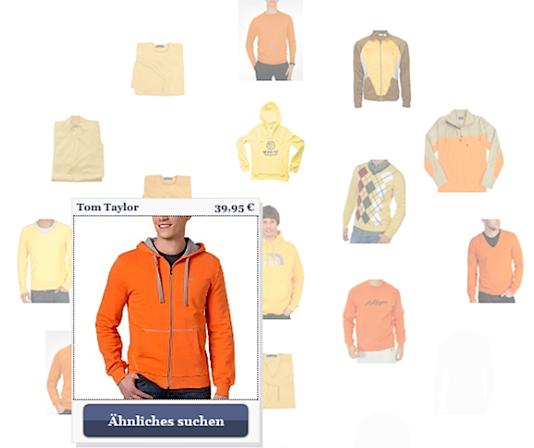 orangefarbene Tom Tailor Sweatjacke bei stylight.de
