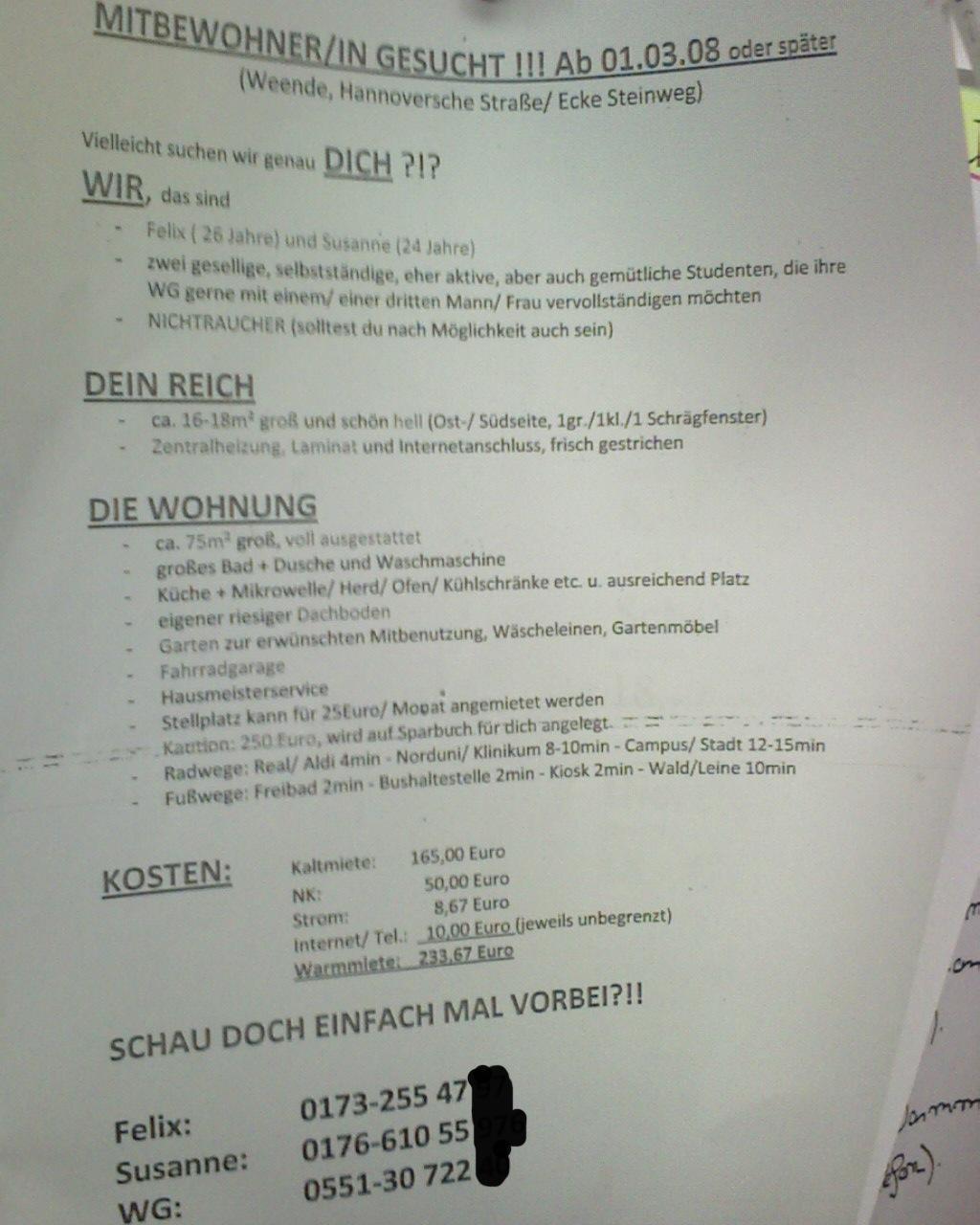 mitbewohnerin ue 50 gesucht berlin
