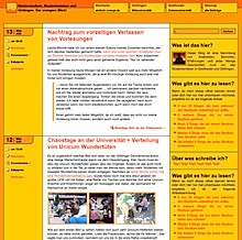 neues Design für den Blog