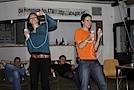 Isabell gegen Norman - Göttinger Blogger beim Boxen