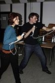 Isabell vs. Wolf Kampf der Giganten bei Nintendo Wii Boxen