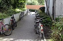 endlich mal freie Fusswege in Studentenwohnheim