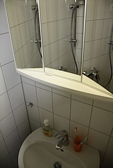 mein neues Bad im Studentenapartment