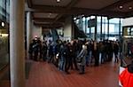 Erster Ansturm auf das ZHG Goettingen um 8 Uhr