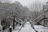 ATW2 versinkt im Schnee - Studentenwohnheim Goettingen