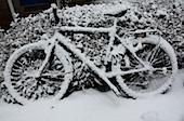 eingescheites Fahrrad im ATW