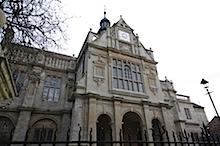 Geschichtsfakultaet in Oxford