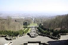 Aussicht vom Kasseler Herkules ueber Kassel