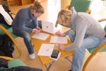 Formulare in der Jugendherberge in Oviedo