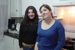 Maria und Iria in der Küche meiner spanische Wohngemeinschaft