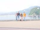 San Sebastian Baskenland: Foto von der bucht mit Lexi, Martha, Silja und SrNaranja