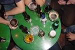 Paco's Oviedo: Bierauswahl auf dem Tisch