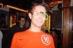 Halloween in Oviedo Asturianu und SrNaranja mit Spassbrille