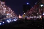 Berlin Unter den Linden zu Weihnachten