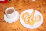 typisch spanisch: Churros para desayunar