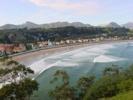 Ribadesella Asturien: Strandpromenade