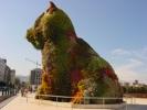 Bilbao Baskenland: Blumenhund vor dem Guggenheim Museum