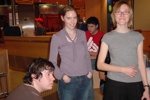 Bowling in Oviedo: Martha, Sonia und Dave