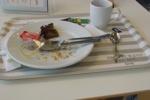 Aufgegessen beim Ikea Frühstück
