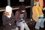Silvester in Berlin: Warten auf die Tram