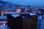Oviedo im Schnee